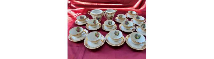 Limoges- Servizio da tè da 12 persone